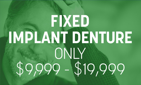 special offers for fixed implant dentures
