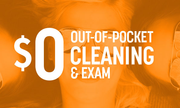 special offers for our of pocket cleanings